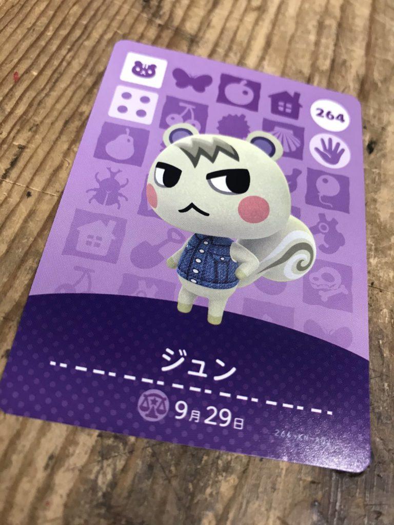 カード ジュン Amiibo